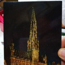 Postales: POSTAL BRUSELAS GRANDE PLACE HOTEL DE VILLE S/C. Lote 246158095