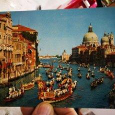 Postales: POSTAL VENECIA REGATA STORICA SUL CANAL GRANDE S/C. Lote 246164750