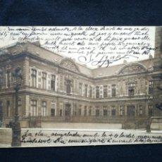 Postais: POSTAL ANTIGUA BRUXELLES LE CONSERVATOIRE ROYAL DE MUSIQUE. Lote 246923110