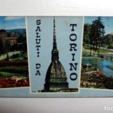 Postales: POSTAL DE TORINO - ITALIA - ESCRITA CIRCULADA CON SELLO Y MATASELLOS 1966. Lote 247542180