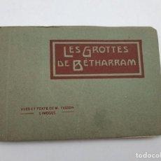 Postales: LOTE DE POSTALES LES GROTTES DE BÉTHARRAM ( AÑOS 30/40 ) VER FOTOS. Lote 248016195