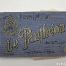 Postales: LOTE DE POSTALES LE PANTHÉON, PINTURA MURALES. Lote 248017300