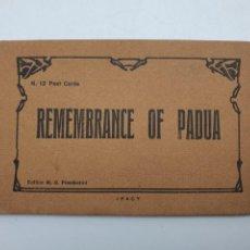 Postales: LOTE DE POSTALES RECUERDOS DE PADUA, EDICIÓN M.G.PROSDOCIMI ( EN COLOR ) VER FOTOS. Lote 248018595