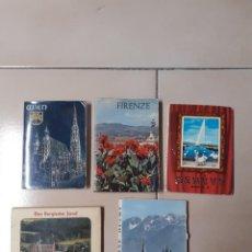 Postales: 5 TIRAS ACORDEÓN DE POSTALES TAMAÑO APROX. 11X8 AUSTRIA, ITALIA, SUIZA Y ALEMANIA. Lote 252121220