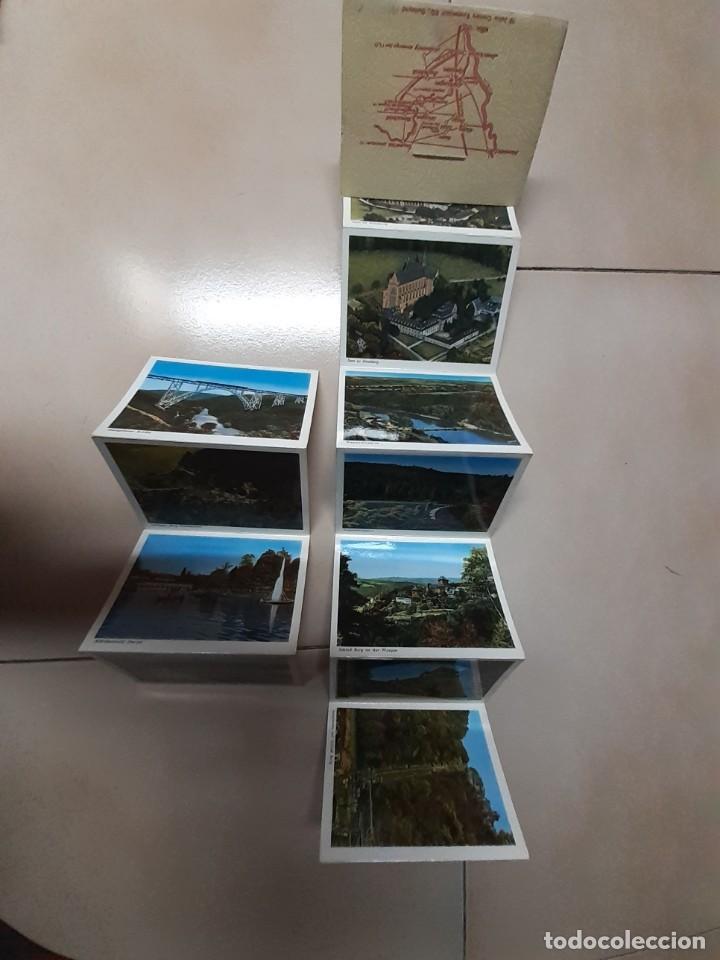 Postales: 5 tiras acordeón de postales tamaño aprox. 11x8 Austria, Italia, Suiza y Alemania - Foto 5 - 252121220