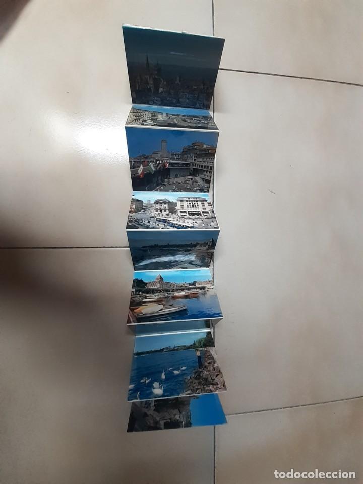 Postales: 5 tiras acordeón de postales tamaño aprox. 11x8 Austria, Italia, Suiza y Alemania - Foto 7 - 252121220