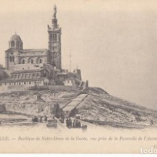 Postales: (5207) POSTAL MARSEILLE, FRANCIA - BASILIQUE DE NOTRE-DAME - S/CIRCULAR. Lote 254071995