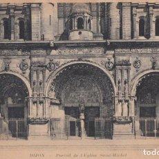 Postales: (5210) POSTAL DIJON, FRANCIA - PORTAIL DE L'EGLISE SAINT-MICHEL - S/CIRCULAR. Lote 254072690