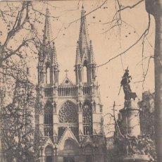 Postales: (5213) POSTAL MARSELLE, FRANCIA - IGLESIA DES REFORMÉS ET MONUMENT DES MOBILAS - S/CIRCULAR. Lote 254074035