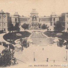 Postales: (5221) POSTAL MARSELLE, FRANCIA - LE PALAIS LONGCHAMP - S/CIRCULAR. Lote 254076500