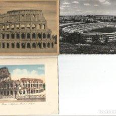 Postales: ROMA - LOTE 3 ANTIGUAS POSTALES - COLISEO. Lote 254078160