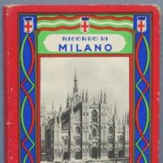 Postales: RICORDI DI MILANO. 32 VEDUTE. Lote 254087730