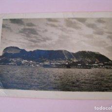 Postales: POSTAL FOTOGRÁFICA DE GIBRALTAR. ESCRITA, CON SELLOS, AÑOS 50.. Lote 254448330