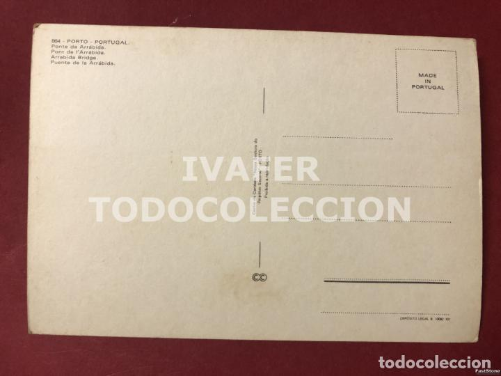 Postales: POSTAL OPORTO, PORTUGAL, PUENTE DE ARRABIDA - Foto 2 - 254461505