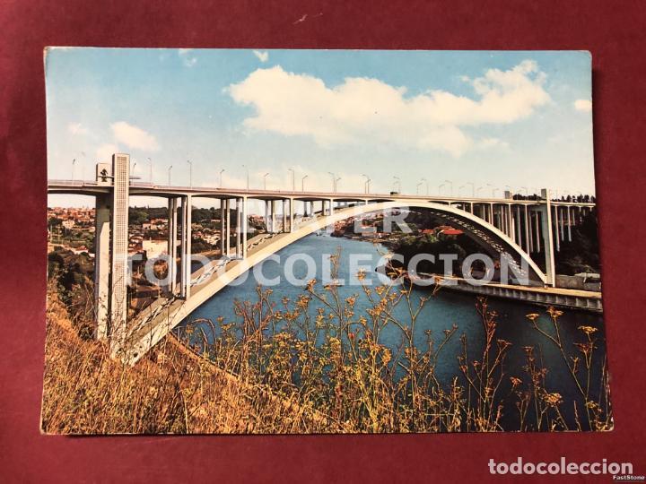 POSTAL OPORTO, PORTUGAL, PUENTE DE ARRABIDA (Postales - Postales Extranjero - Europa)