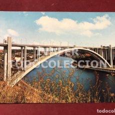 Postales: POSTAL OPORTO, PORTUGAL, PUENTE DE ARRABIDA. Lote 254461505