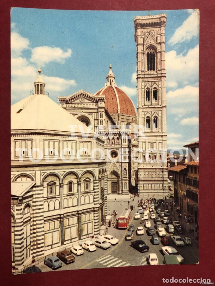 POSTAL FLORENCIA, BATISTERIO, CATEDRAL Y CAMPANARIO, AÑOS 70 (Postales - Postales Extranjero - Europa)