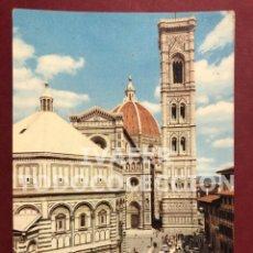 Postales: POSTAL FLORENCIA, BATISTERIO, CATEDRAL Y CAMPANARIO, AÑOS 70. Lote 254462645