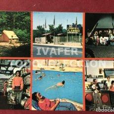 Postales: POSTAL CAMPING FLAMINIO, ROMA, AÑOS 70. Lote 254462800