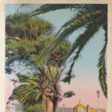Postales: FRANCIA NIZA PASEO DE LOS INGLESES 1938 POSTAL CIRCULADA. Lote 254725175