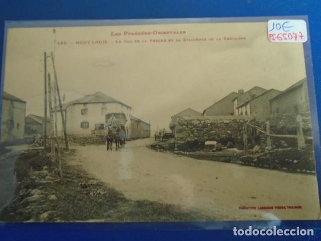 (PS-65077)POSTAL DE MONT LOUIS-FRANCIA.PRINCIPIOS DE SIGLO (Postales - Postales Extranjero - Europa)