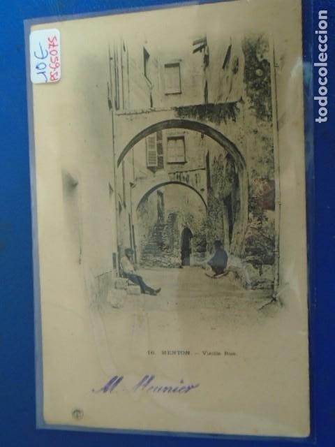 (PS-65075)POSTAL DE MENTON-FRANCIA.PRINCIPIOS DE SIGLO (Postales - Postales Extranjero - Europa)