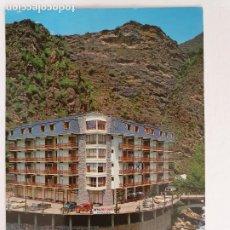 Postais: ANDORRA - LES ESCALDES - HOTEL PARÍS LONDRES - CIRCULADA - P50153. Lote 255985630