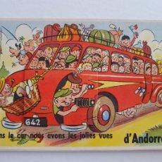 Postales: ANDORRA - POSTAL SORPRESA AMB 10 VISTES - P50332. Lote 256032645