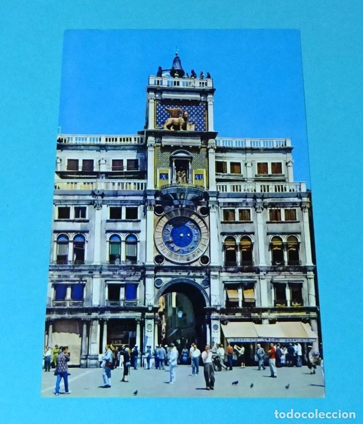 POSTAL FOTOGRÁFICA TORRE DEL RELOJ. VENECIA (Postales - Postales Extranjero - Europa)