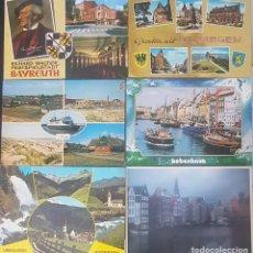 Postales: LOTE DE 40 POSTALES DE ESCANDINAVIA Y CENTRO EUROPA (AUSTRIA, ALEMANIA..) PERÍODO 1950-90. Lote 257817235