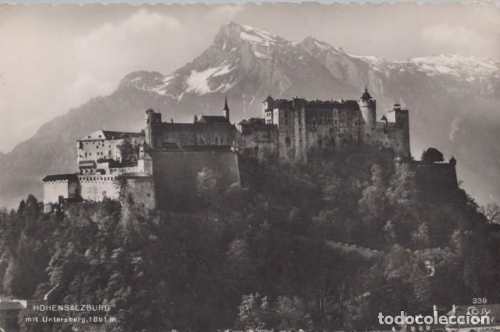 POSTAL AUSTRIA - HOHENSALZBURG - MIT UNTERSBERG 1801 M - 339 COSY (Postales - Postales Extranjero - Europa)
