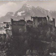 Postales: POSTAL AUSTRIA - HOHENSALZBURG - MIT UNTERSBERG 1801 M - 339 COSY. Lote 260320805