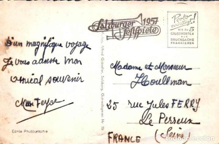 Postales: POSTAL AUSTRIA - HOHENSALZBURG - MIT UNTERSBERG 1801 M - 339 COSY - Foto 2 - 260320805