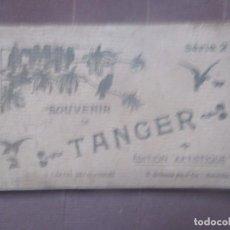 Postales: TANGER -SOUVENIR -CUADERNILLO CON 13 POSTALES EN BLANCO Y NEGRO. Lote 261566880