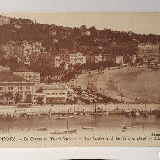 Postales: CANNES/ ORIGINAL DE ÉPOCA/ CIRCULADA /(D.257). Lote 261638680