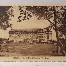 Postales: VITTEL/ HOTEL DE L'HERMITAGE/ ORIGINAL DE ÉPOCA/ ESCRITA /(D.257). Lote 261639275