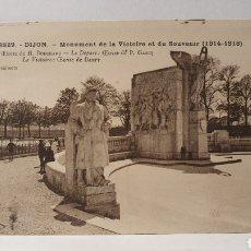 Postales: DIJON/MONUMENT A LA VICTOIRE/ ORIGINAL DE ÉPOCA/ CIRCULADA /(D.257). Lote 261639850