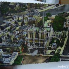 Postales: NOTRE DAME PARIS 1952 COLOR FIRMA GREFF MIDE 10,5 X 15CM. BIEN CONSERVADA CORREO CERTIFICADO (PENÍNS. Lote 261832115