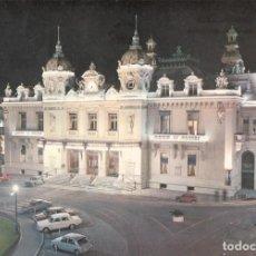 Postales: MÓNACO. MONTECARLO, CASINO ILUMINADO.. Lote 262070085