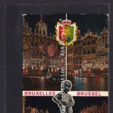 Postales: POSTAL DE BELGICA - SOUVENIR DE BRUXELLES. Lote 262078645