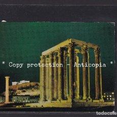 Postales: POSTAL DE GRECIA - ATHENS: THE OLYMBION ILUMINATED (GREECE). Lote 262079380