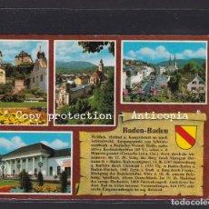 Postales: POSTAL DE ALEMANIA - 7570 WELTBAD BADEN - BADEN. Lote 262079700