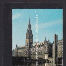 Postales: POSTAL DE ALEMANIA - HAMBURG RATHAUS. Lote 262079855