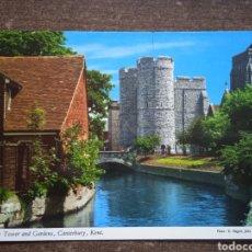 Postales: POSTAL WESTGATE TOWER AND GARDENIA, CANTERBURY, KENT. SIN CIRCULAR.. Lote 262165655