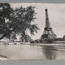Postales: PARIS ET SES MERVEILLES - ED. GUY - Nº 3076 - TORRE EIFFEL VISTA DESDE LA AVENIDA DE NEW-YORK. Lote 262854615