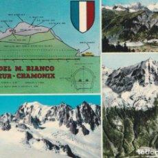 Postales: ITALIA, COURMAYEUR, TUNEL DEL M.BIANCO - EDIZ.CASA DEL RICORDO - S/C. Lote 262934385