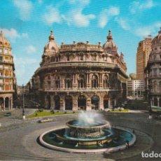 Postales: ITALIA, GENOVA, PLAZA DE FERRARI - ED.F.CALI Nº20458 - CIRCULADA. Lote 262934595