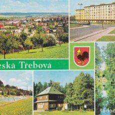 Postales: REPÚBLICA CHECA, ČESKÁ TŘEBOVÁ, VISTAS DE LA CIUDAD - S/C. Lote 262938180
