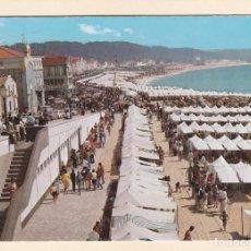 Postales: POSTAL UN ASPECTO DE LA PLAYA. NAZARÉ (PORTUGAL). Lote 263065140