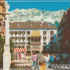 Postales: INNSBRUCK . AUSTRIA . TEJADITO DE ORO ... SIN CIRCULAR. Lote 263077675